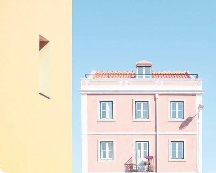 Lisboa Minimalism Lisbon Colors Pastel Power