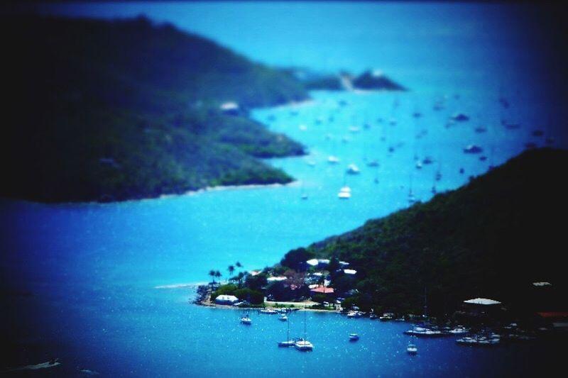 A Bird's Eye View Island Water Sea Ocean Travel Destinations Caribbean Blue Usvirginislands VirginIslands