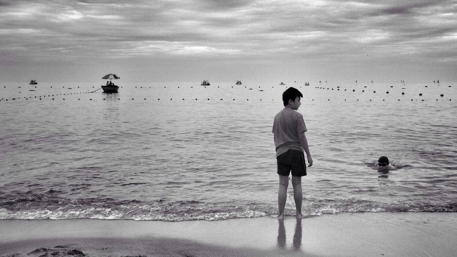 Sea Relaxing Enjoying Life Heaven