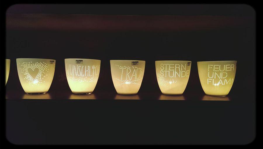 Stimmunglicht Tendence14 Kerzenlicht Messages Networking