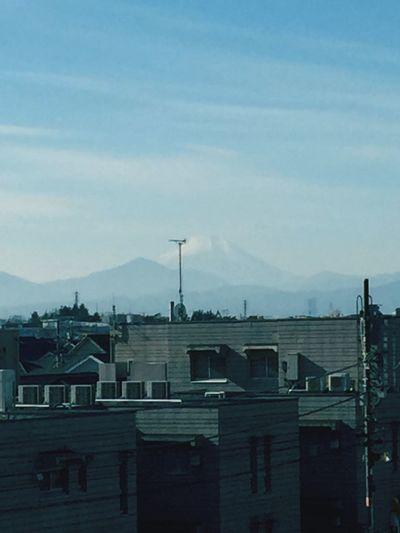 富士山、初見。 富士山 Mtfuji