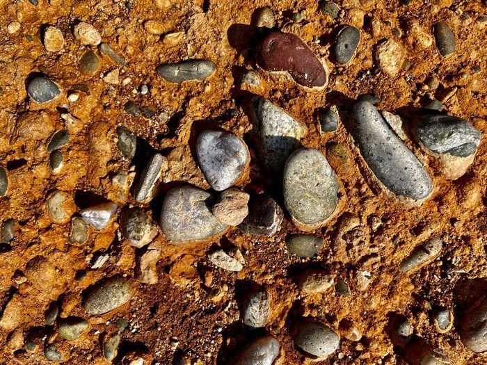 Detail shot of rusty metal