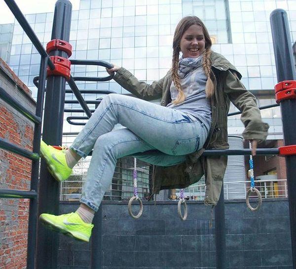 надоподкачаться зож фитоняшка ногипопа Яндекс праздникспорта Москва спорт Workout Msk Vscomood ахмесяцмай май весна