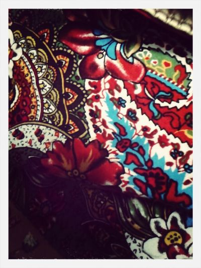 pattern of my sister's skirt Patterns Red Fabric Detail