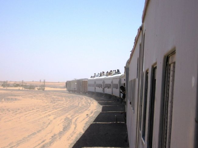 Blue Clear Sky Desert Dry Dust Hot Journey Riding The Train Sky Sudan Taking Photos Train Travel Travel Photography Traveling Trainphotography Train Journey On the way to Khartoum from Wadi Halfa On The Way