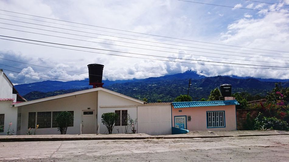 Good Morning Mountain Cloud - Sky Natural Beauty Hood Goodlife Tranquility Built Structure Boyaca View Relaxing Moments Travel Naturalstyle Beauty In Nature