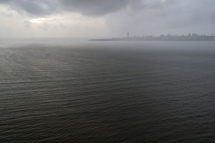 Mumbai 15 Cityscape Cloudy Sky Maharashtra Panoramic View Skyline Urban Exploration Urbanscape Arabian Sea Bombay Elevated View Fog High Angle View Horizon Over Water Outdoors Place To Visit Scenic View Street Photography Sunset Tourism Tourist Destination Tranquil Scene Travel Destination View From Above Viewpoint Waterfront