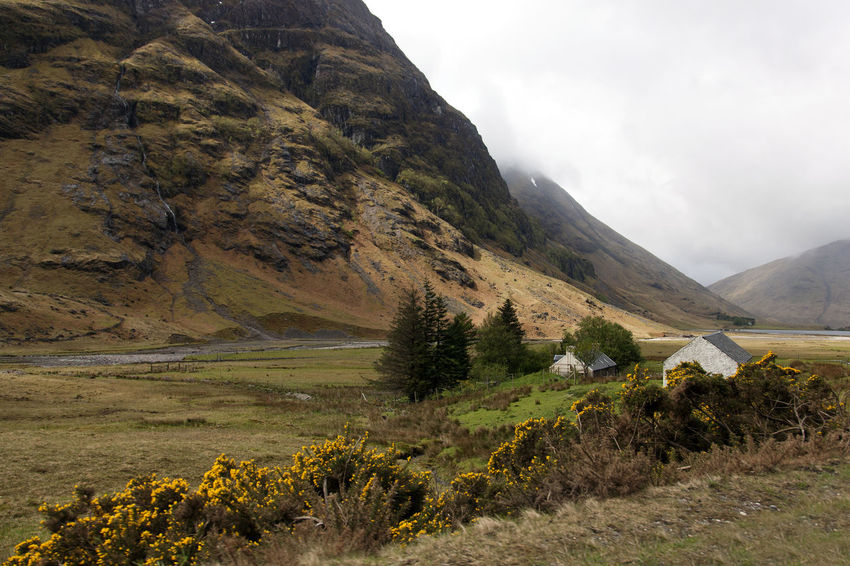 Argyll And Bute Bothy Clouds Croft Glen Glen Coe Glencoe Highlands Highlands Of Scotland Landscape Low Lying Cloud Low Lying Clouds Mountain Mountain Range Mountains Nature River Coe Scotland Scottish Glen Scottish Highlands Scottish White House Trees White House