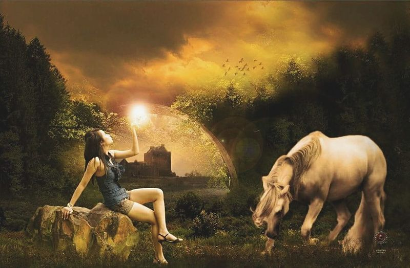 Fantasy Beyond Imaginations Outdoors Women Fantasy Edits Fantasy Imaginations Manipulation