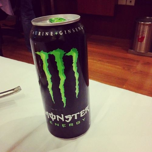 This sure helps Energydrink Monster Kenblock Caffine drinktonight poison