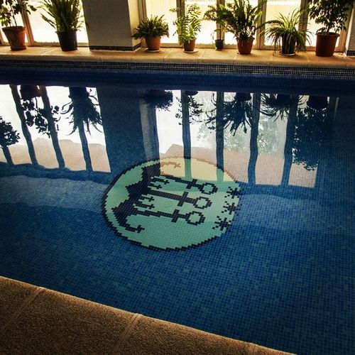 Piscina climatizada del Hotel Tres Anclas de la Playa de Gandia Hotel3anclas Gandiabeach Hoteltresanclas