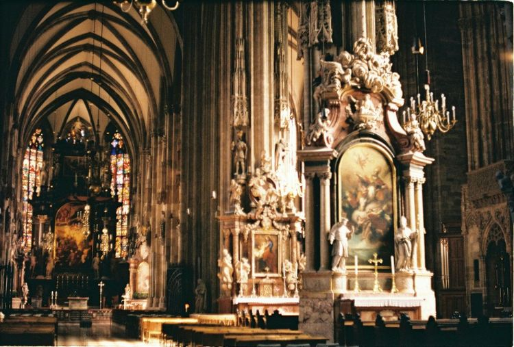 St. Stephen's Cathedral First Eyeem Photo Church Architecture Vienna Gothic 35mm Cathedral Austria Film Analogue Photography