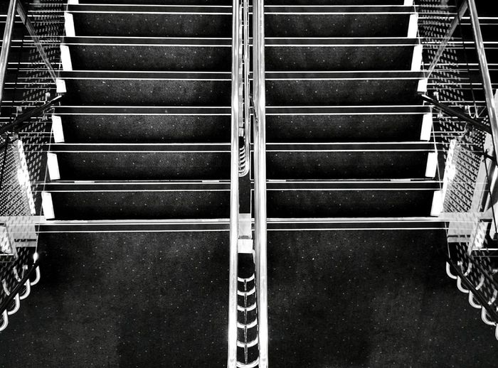 Day 271 - Ferry stairs Helsinki Blackandwhite Ferry Stairs 365florianmski 365project Day271