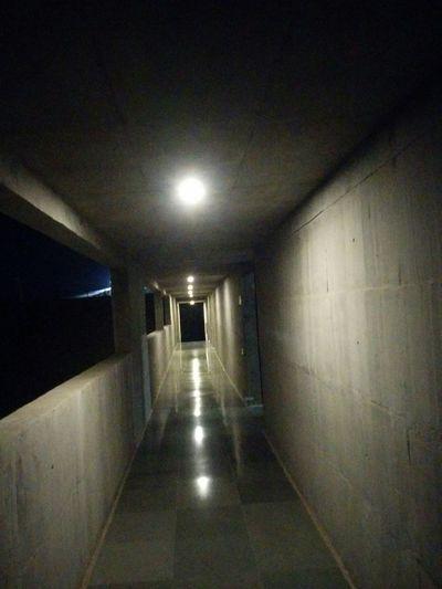 Built Structure Illuminated Passages