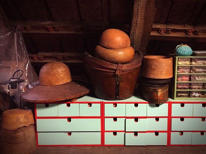 Hat shapes - Hatshapes Hat Vintage Vintagehats Wood - Material Indoors  Still Life Designerstudio Attic