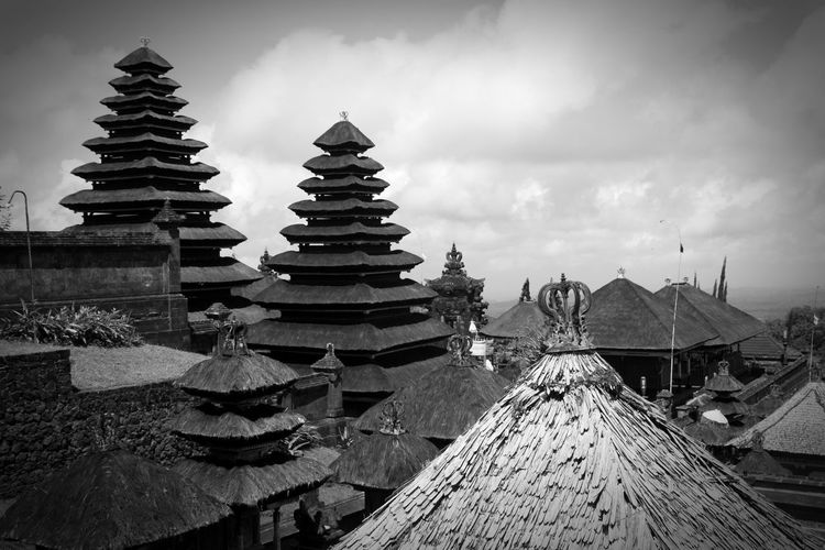 Beautiful view Blackandwhite Stone Material Atmospheric Mood Backgrounds Pattern, Texture, Shape And Form Structures Material Mix Shadows & Lights Eye Em Best Shots Eye Em Around The World Eye Em Best Shots -Black +White Eye Em Travel monochrome photography Monochrome No People Silhouette Silence Place Of Worship Spirituality Ancient Arrival Religion Beauty Pagoda Tradition Tropical Climate Sky Historic Pavilion Praying