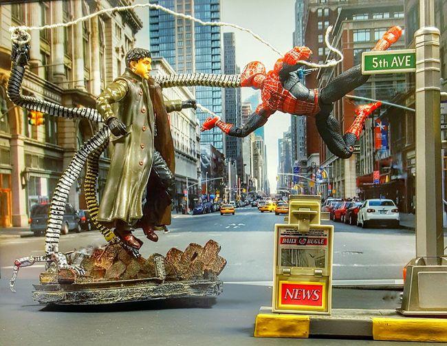 Here's web in your eye ock! Marvel Spiderman Spider-man Doc Ock Toyphotography Toycommunity Toycrewbuddies Toygroup_alliance Toysaremydrug Toyunion Toyplanet Toptoyphotos ACBA