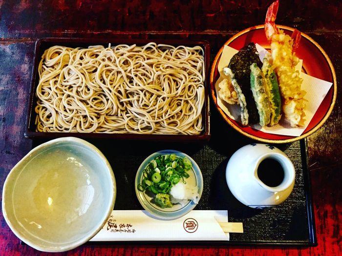 * 最近、お蕎麦熱沸騰中。 烏丸御池へ用事があったので、創業1465年の尾張屋本店へ。(応仁の乱の2年前創業て。。。) ししおどしがあるお庭を眺めながらずずずー。 Kyoto 尾張屋本店 ランチ Lunch Japanese Food Yummy♡
