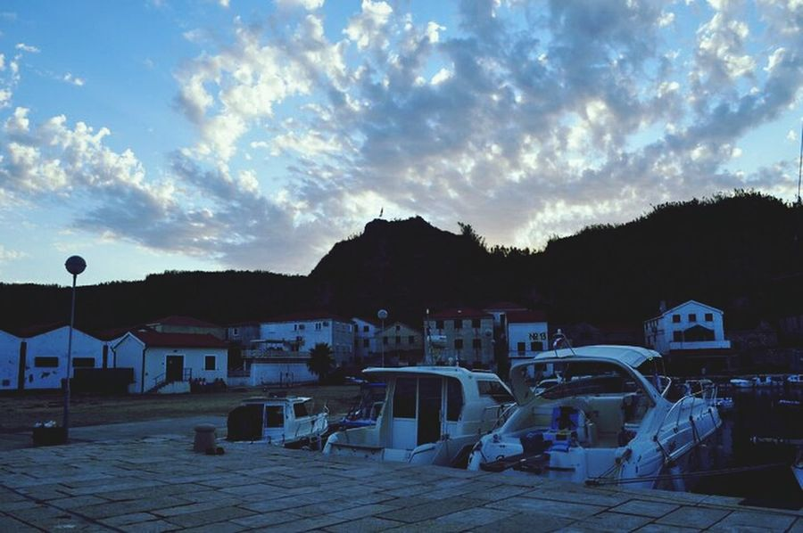 Cloud Porn Ships Kroatia Silhouette