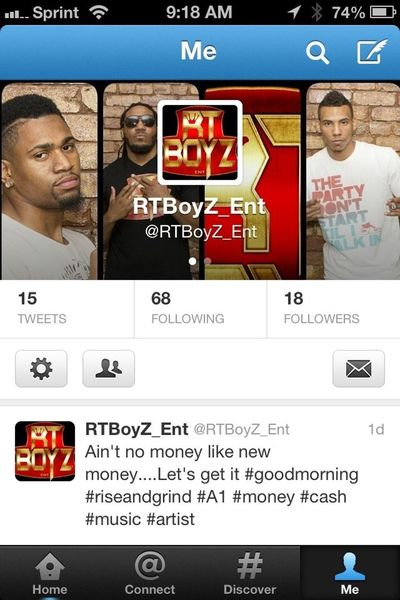 Follow the RT BoyZ on twitter @rtboyz_ent if you haven't done so. It's a movement, time to get moving. #repost