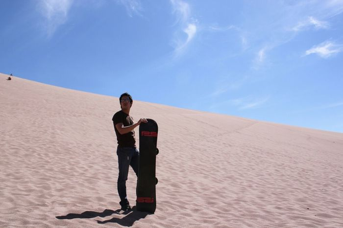 Sandboard! Enjoying Life Sport Style