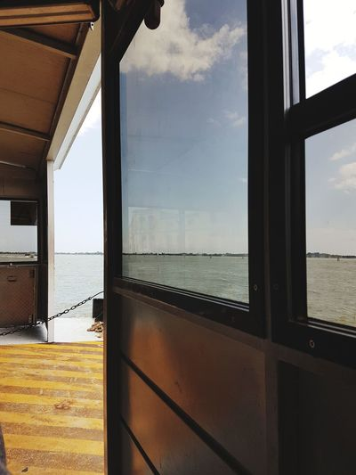 EyeEm Selects Venice Italy Water Boat Water Sky Window Cloud - Sky No People Architecture Sea Built Structure Day Building Exterior Outdoors Nature Cityscape First Eyeem Photo