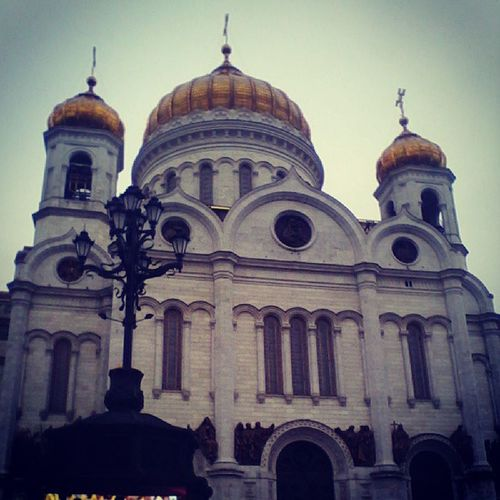 Cathedral of Christ the Savior. Moscow.