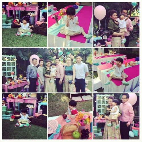 Cataleya`s 1st birthday party Projectart Projectartplus Oneway ONEW