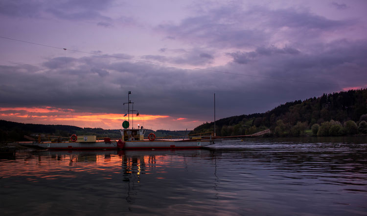 Night Reflection Sunset Landscape Water Beauty Vacations No People Cloud - Sky Beach Outdoors Travel Destinations Pink Color Nature Nightlife Sea Sky Beauty In Nature Photography Themes Nautical Vessel