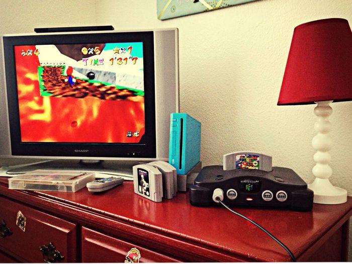Retrogaming Nintendo 64 Rooms Playin N64