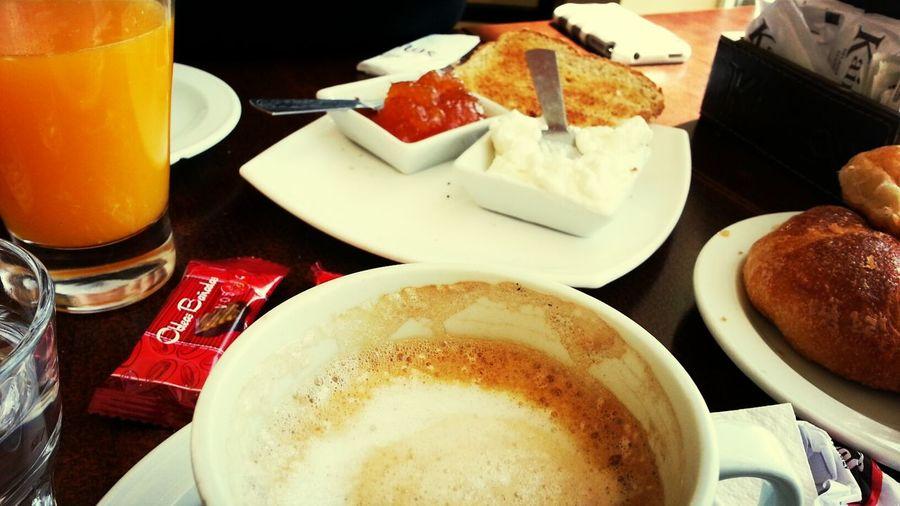 desayunando Breakfast Food Delicious Taking Photos