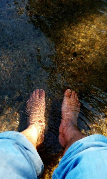 Chilling Chillout Water Water Path Cool Water Feets Feet In Water Relaxing Spa