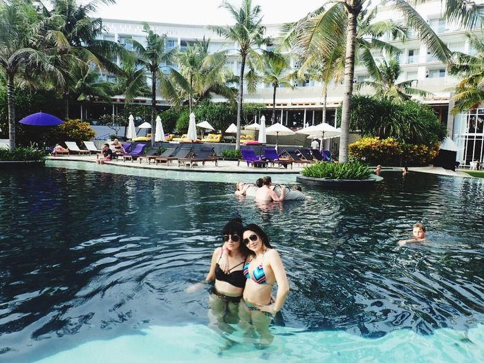 My Soulmate Check This Out Bff Hello World Hanging Out Enjoying Life I Love My Sunglasses. Swimming Chilling bali