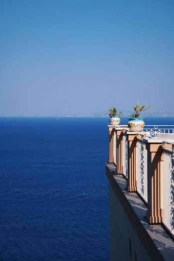 Blue Sea Napoli Travel Architecture Beauty In Nature Blue Blue Sky Bluesky Built Structure Clear Sky Copy Space Day Horizon Over Water Nature No People Outdoors Photo Scenics Sea Sea And Sky Sky Tranquil Scene Tranquility Travel Destinations Water EyeEmNewHere
