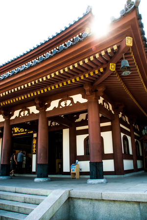 Architecture Built Structure Column Hasedera Hasedera Temple Japanese Culture Japanese Temple Kamakura Religion Spirituality Temple