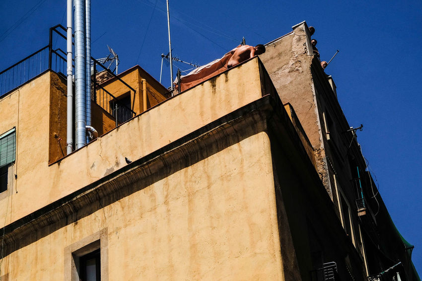 Raval People Watching Street Barcelona Rooftop Stories From The City Architecture Building Exterior Street Photography Streetphotography