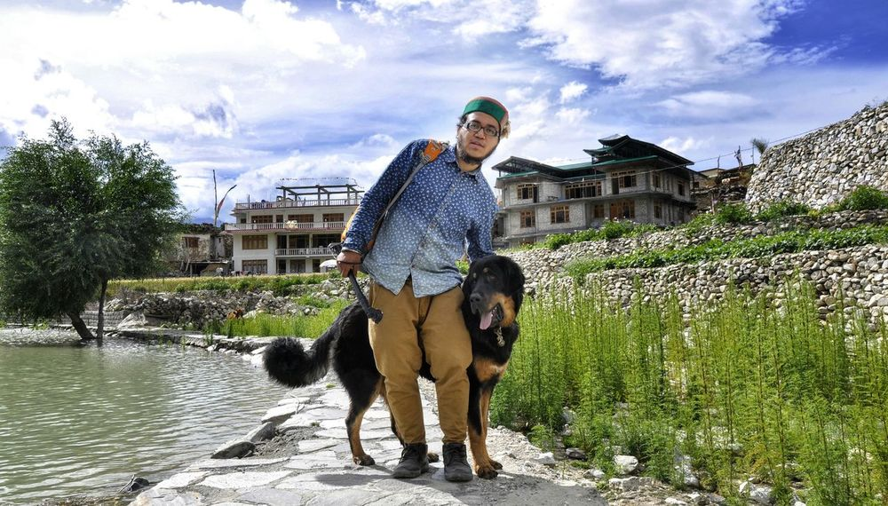 Mountains Indiapictures Traveler Photooftheday Hello World That's Me Today's Hot Look Dog Love India Himachal