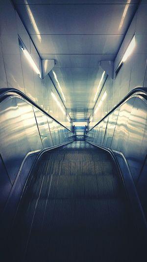 RER Metro Subway Photo Lights Shadows