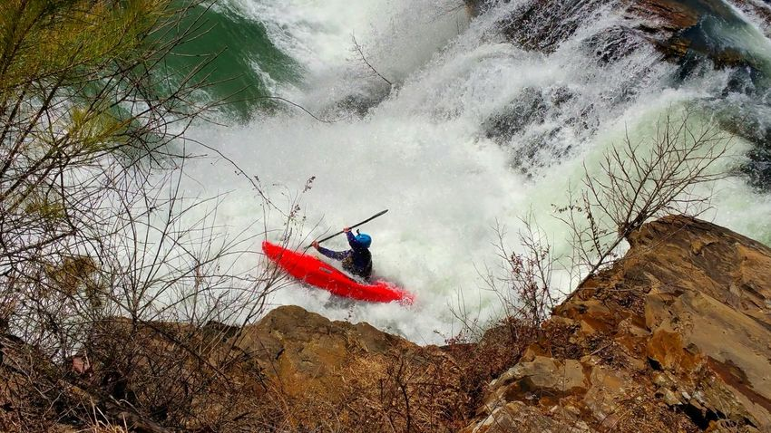 Showcase March Outdoor Sport Kyaking Turbulent Waters Red Outside Photography Outdoor Life Outdoor Photography Nature_collection Nature Photography Naturelovers Excitement Enjoying Life Taking A Chance Fearless Energy Pattern, Texture, Shape And Form Design Atmospheric Mood Simple Beauty Simplicity Falls Sports Photography Nature Sport Landscape With Whitewall