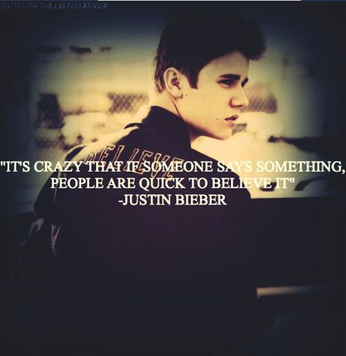 #Justin #Bieber #Quote #BELIEVE #BOYlieber #Beliber #HATE #ON #IT