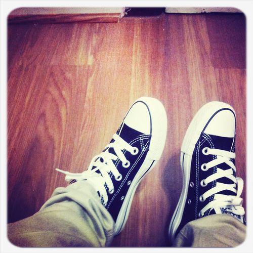 My Black & White Chucksツ