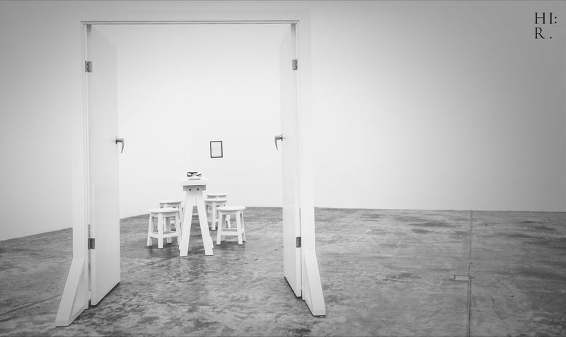 COLLECTION : OCCIPITAL / YEAR : 2014 / PLACE : MUAC / TITLE : THE DOOR Art Artist Just Taking Pictures White Room