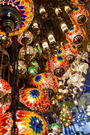 Istanbul, Turkey. Close-up Colorful Dramatic Angles Istanbul Lantern No People Turkey Turkish Lamp Turkish Lamps