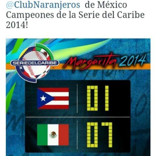 Yei México campeón Baseball SC14 Tomalapapa Purafelicidad
