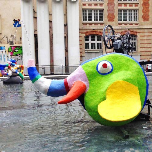 Fontaine Stravinski Paris Nikki De Saint-Phalle