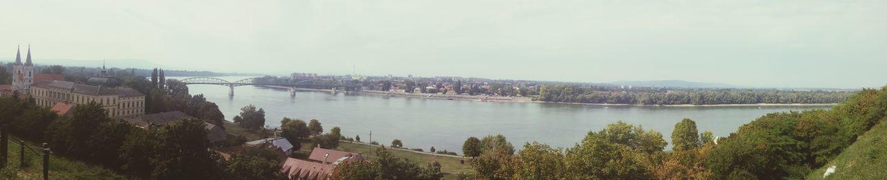 The Danube and Slovakia panorama