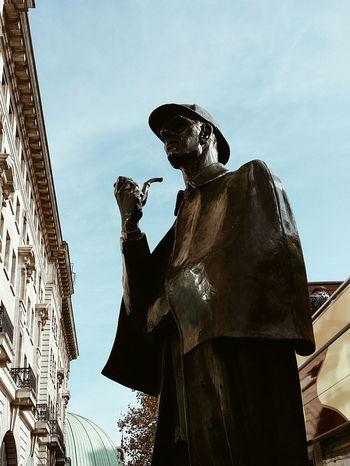 Sherlock 🔍 London Sherlockholmes Sherlock Bakerstreet Statue
