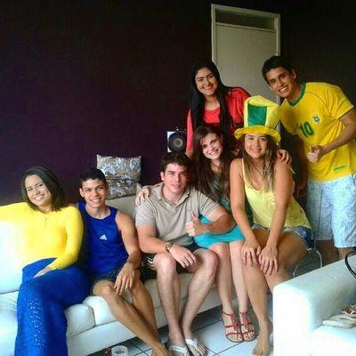 Apesar do placar... VAIBRASIL Friends BrasilxMéxico Copadomundo Fortaleza Brasil fun