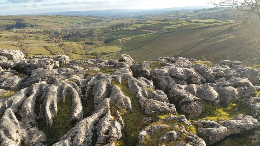 Samsung Note 4 Nature Beauty In Nature Day Scale  Harry Potter Malham Cove No People