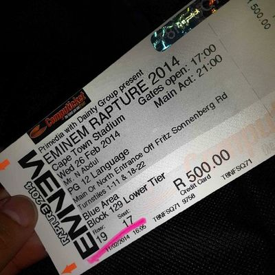 No Ultrasa bt hell yeah for Rapture2014 whoop whoop Eminem Awesome amped